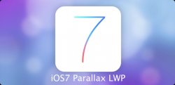 Скриншот к файлу: iOS7 Parallax Live Wallpaper