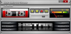 Xstar Radio 3.0 Chrome