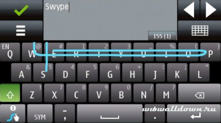Swype для Symbian - Новая бета-версия для Symbian S60 5th Edition