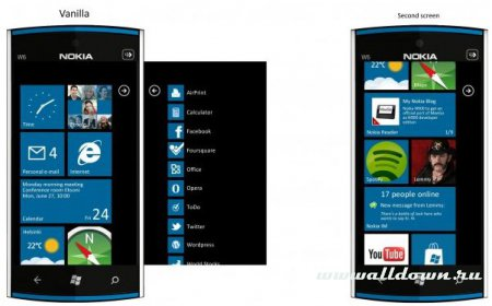 W6-новая концепция для Windows Nokia Phone