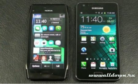 Nokia X7 vs. Samsung Galaxy S2