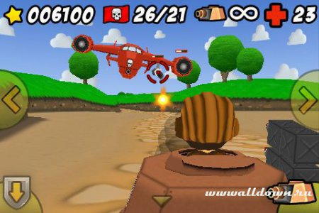 Toy Tanks 3D  от FishLabs для Symbian ^ 3