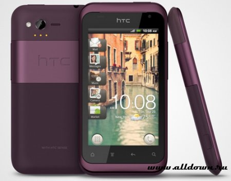 Вышел HTC Bliss, точнее HTC Rhyme