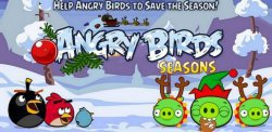 Angry Birds Seasons: Wreck the Halls для Symbian