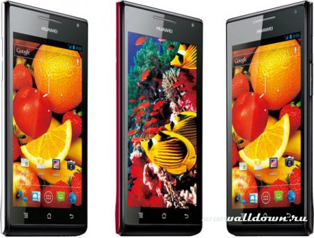 Huawei Ascend P1 S- Самый тонкий Android