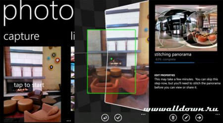 Вышел Photosynth для Windows Phone!