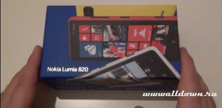 Nokia Lumia 820- Распаковка и обзор
