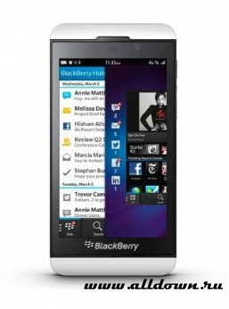 BlackBerry Z10- Видео обзор