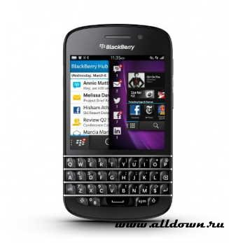 BlackBerry Q10- Обзор