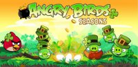 Angry Birds Happy St. Patrick's Day
