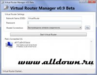 Скриншот к файлу: Virtual Router Manager v.0.9 Beta